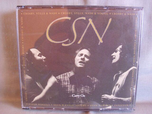 Crosby Stills & Nash- Carry on- 2-CD-Box- ATLANTIC- Made in Germany WIE NEU