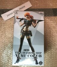 One Piece FLAG DIAMOND SHIP NAMI CODE B Figure 25cm BANPRESTO anime from JAPAN