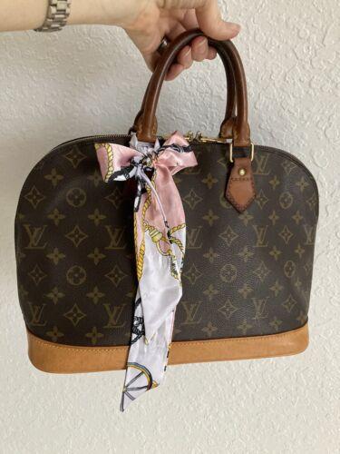 Authentic Louis Vuitton Alma PM Monogram Bag Purse
