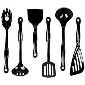 Details about Jazava Tool & Gadget Sets Kitchen Utensils - 6-Pieces Nylon  Cooking For Nonstick