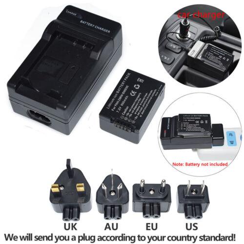 DMW-BMB9E Batería Cargador para Panasonic Lumix DMC-FZ40 FZ45 FZ150 FZ100 FZ47 Cam