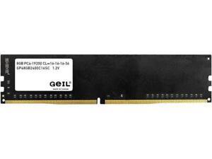 Geil Pristine 8gb 288 Pin Ddr4 Sdram Ddr4 2400 Pc4 19200 Desktop