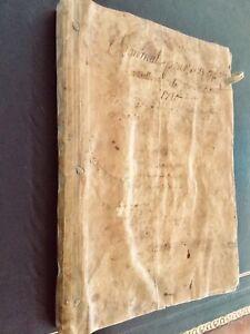 1760 's Fireworks  Pyrotechnics Formulas & Liquors  - French Manuscript 106 pp