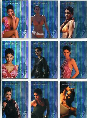 James Bond Women In Motion Complete Jinx Chase Card Set J1-9