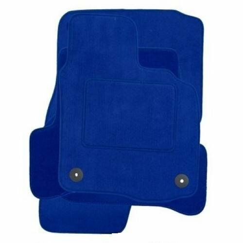 DACIA SANDERO 2013 ONWARDS BLUE TAILORED CAR MATS