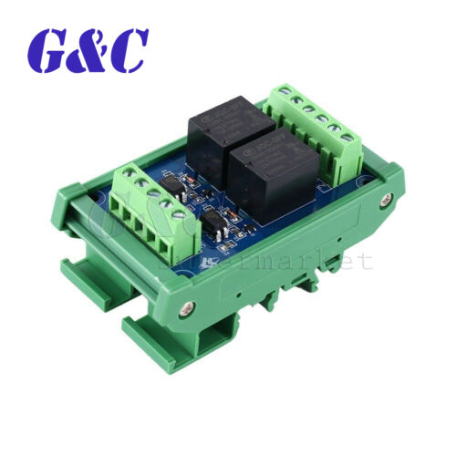 CH Photocoupler Isolated Relay Module SCM PLC Signal Amplifier Board 12V 2//4