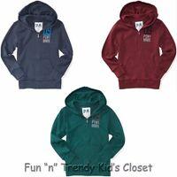 Ps Aeropostale Boys Size 10 12 Kids Mix Zip Up Front Hoodie Sweatshirt