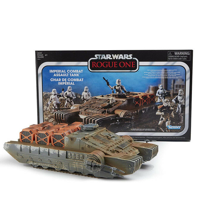 Kenner estrella guerras Rogue One The Vintage collezione Imperial Combat Assault Tank