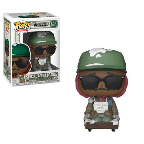 Trading Places - Special Agent Orange - Funko Pop! Movies: (2018, Toy NEUF)