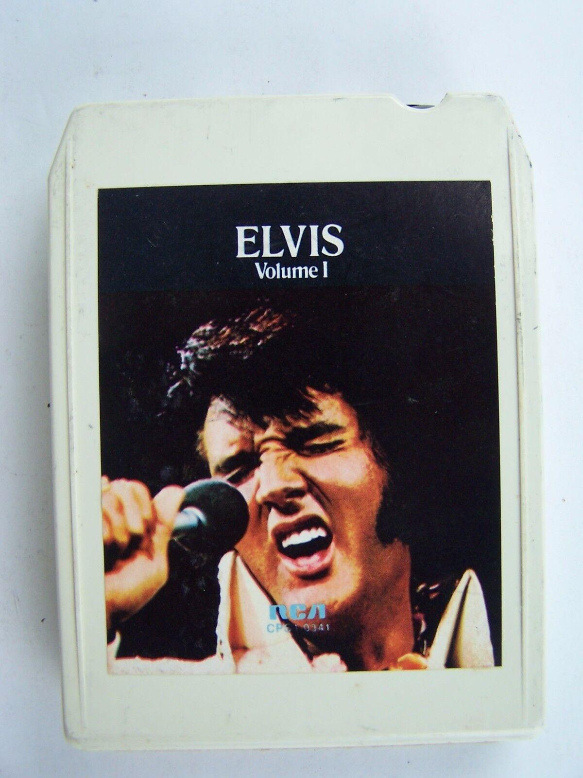 Elvis - A Legendary Performer Vol 1 8 Track Tape LP Alb