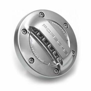 Aluminum-look Gas Tank Cap fits for Porsche 981/991,Cayenne,Panamera,Macan OEM