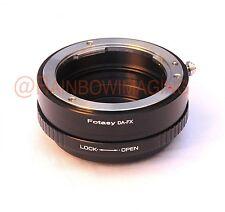 Pentax DA Lens to Fujifim X-Pro2 X-E2 X-T1 X-T10 Camera Adapter Aperture Control