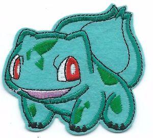 Bulbasaur Pokemon Embroidered Patch Iron On Good Luck Art Ebay