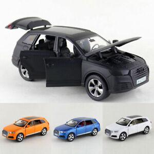 AUDI-Q7-SUV-coche-modelo-escala-1-32-De-Metal-Regalo-Ninos-Coleccion-de-vehiculos-de-juguete-Diecast
