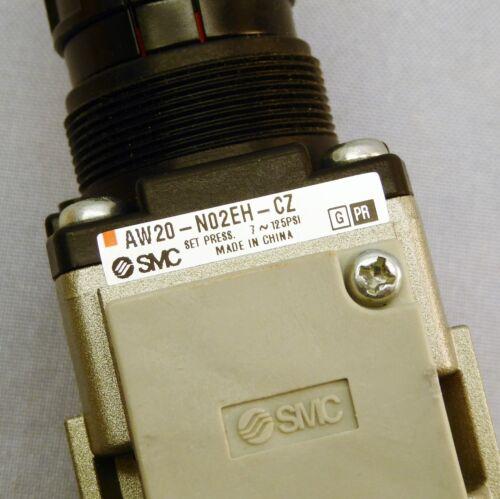 SMC Filter Regulator w// Gauge AW20-N02EH-CZ