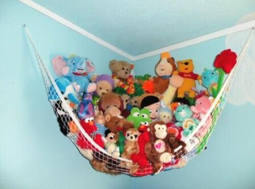 1PC Portable Baby Child Bedroom Toy Organiser Storage Bags Large Toy Hammock C