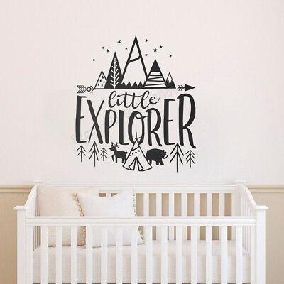 Little Explorer Wall Decals Kids Room