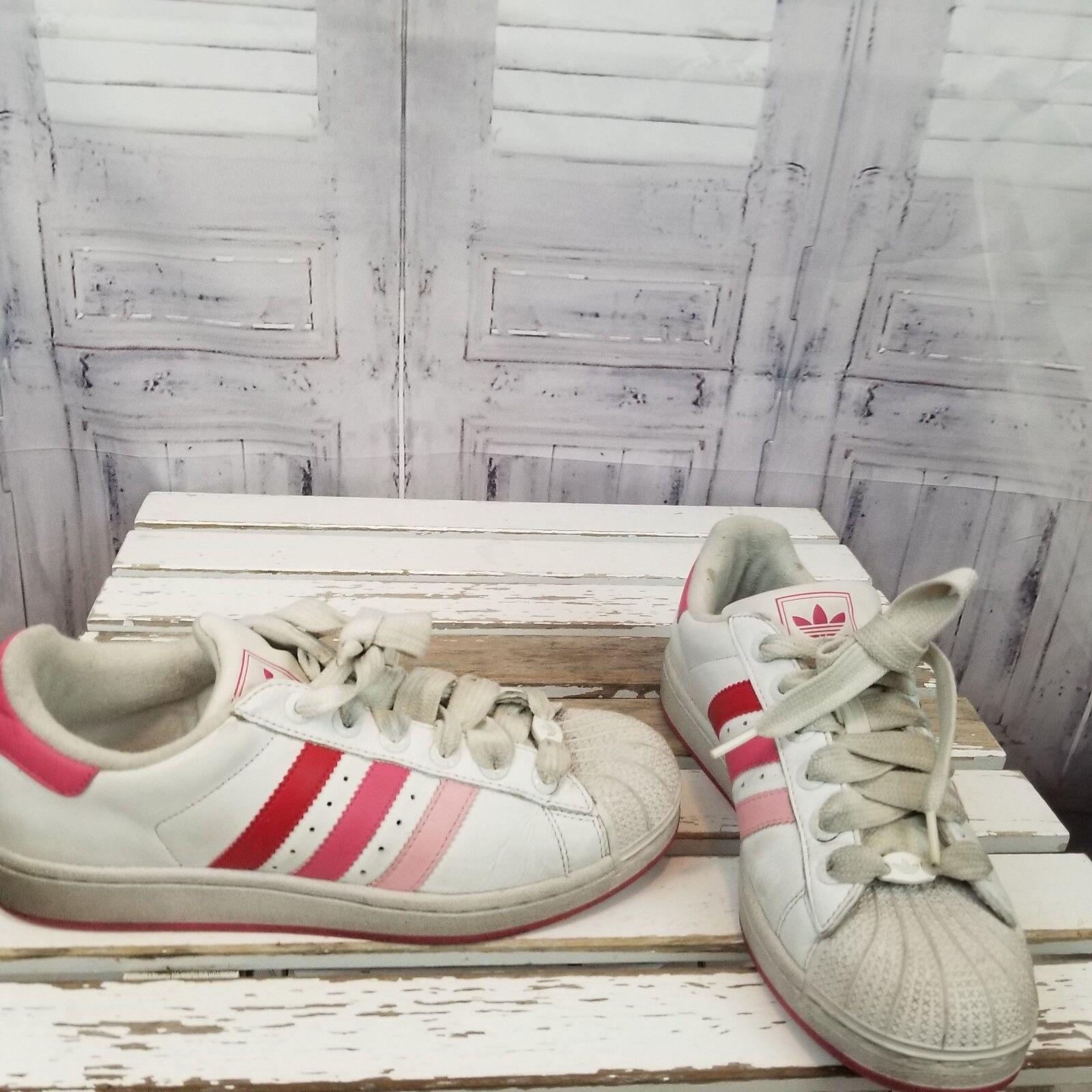 Adidas skater scarpa donne rosa - bianco 8 723001 2006 piatta striscia scarpe da tennis   Vogue    Scolaro/Ragazze Scarpa