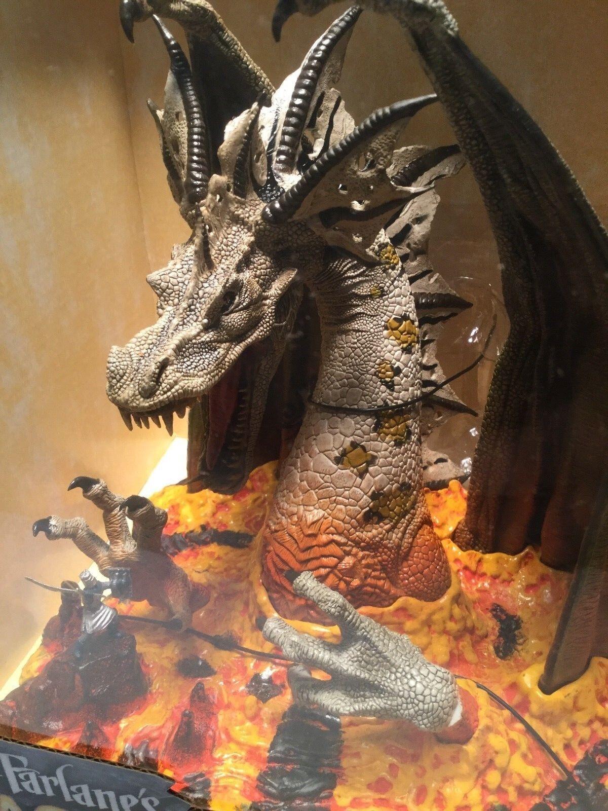 Mcfarlane ist drachen feuerdrachen - clan 5 box fallen der drachen kingdommib neue