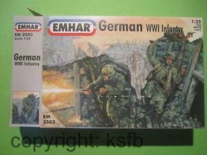 1-35-1-32-Emhar-3503-WKI-Deutsche-Infanterie-Soldaten-German-Soldiers-Figuren