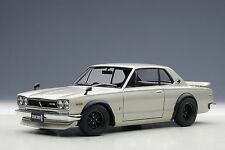 AutoArt Nissan Skyline GT-R (KPGC10) Tuned Version (Silver) 77441