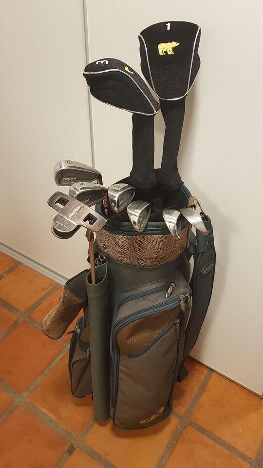 Herre golfsæt, stål, Nicklaus Golden Bear