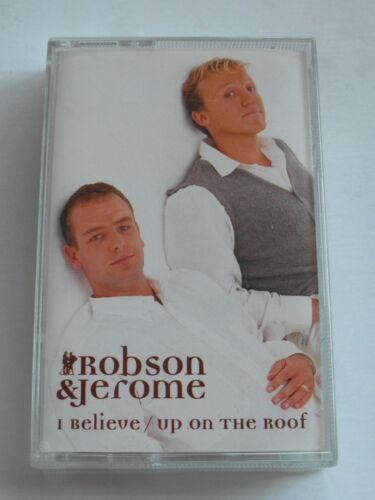 Robson & Jerome - 2 Track Single - Cassette Tape, Used Very Good