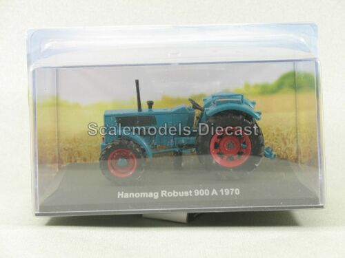 magaz № 88 people 1//43 TRACTORS history cars Hanomag Robust 900 1970 model
