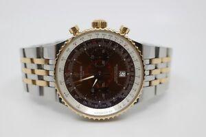 Breitling-Montbrillant-Legende-18k-rose-Watch-C23340