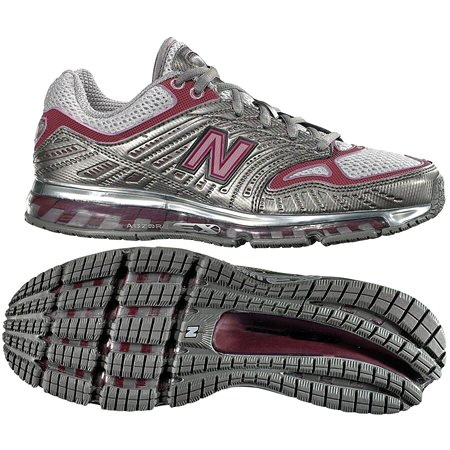 New Balance WR1350GP Silver/Plum Running Shoes 7