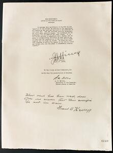1926-Litografia-General-Hines-Mr-A-W-Mellon-Mr-Frank-B-Kellog
