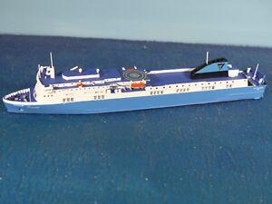 "RHENANIA JUNIOR Schiff 1:1250 IT Fährschiff /""SCOTTISH VIKING/"" RHE J 260 Neu OVP"