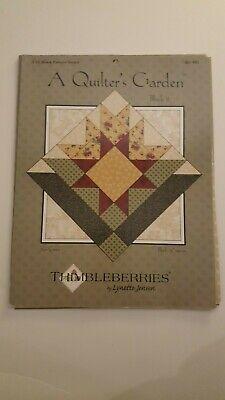 Thimbleberries By Lynette Jensen A Quilters Garden Star Gazer
