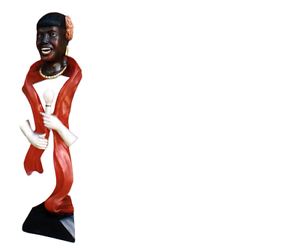 Design cantante-espíritu personaje estatua escultura figuras esculturas decoración 4024