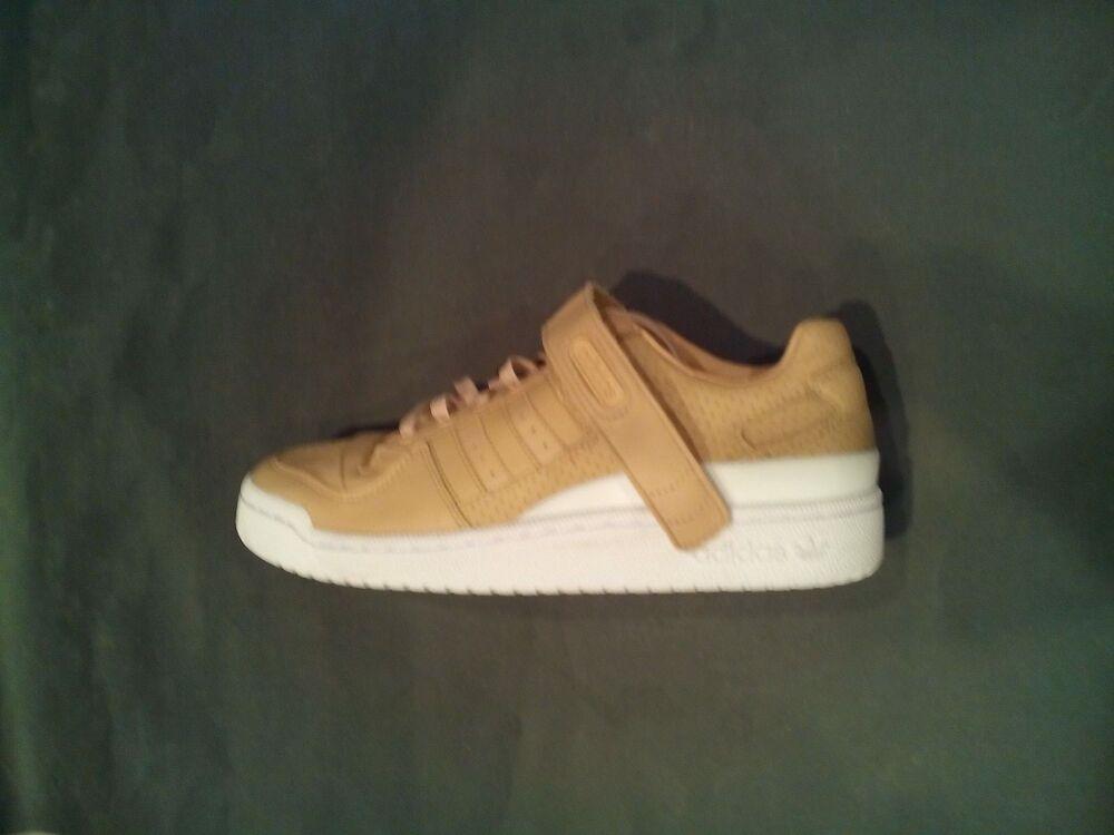 Adidas Forum LO W stpanu / stpanu / ftwwht SZ -9 Frauen, beige Femme