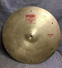 "Very Rare Paiste 2002 Medium Cymbal 20"" with rivets"