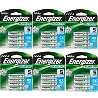 Energizer Aaa Rechargeable Batteries 4 Pack, 6 Count = 24 Batteries on Sale