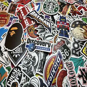 300-Random-Skateboard-Stickers-Vinyl-Laptop-Luggage-Decals-Dope-Sticker-Lot-Mix