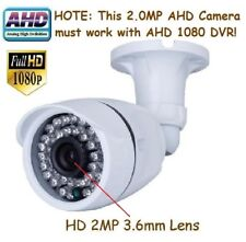 """124A Sunvision AHD 2.0MP 1080p 1//3/"""" CMOS In//outdoor Camera 48IR 2MP 3.6mm Lens"""