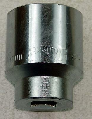 Armstrong 46MM 12 Point Socket 3//4 Inch Drive MADE IN USA!!