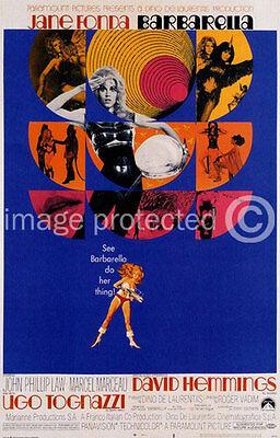 Barbarella Vintage Jane Fonda Movie 11x17 Poster