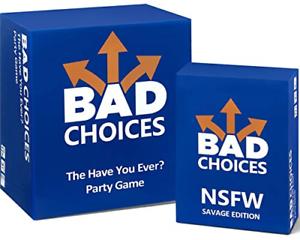 Jeu Fête Mauvais choix-L/' AS-TU JAMAIS le NSFW Savage Edition