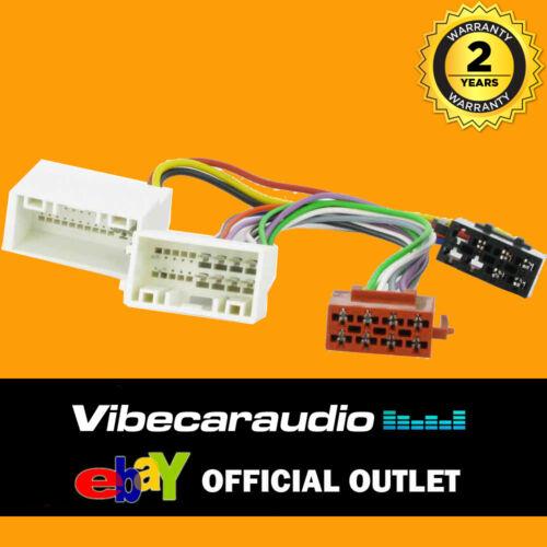 Rio auto estéreo RADIO arnés de cableado ISO Telar CT20KI04 Picanto KIA Sorento