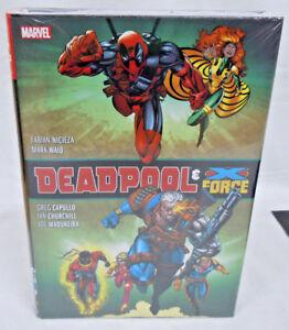 Deadpool /& X-Force Omnibus Waid Capullo Marvel HC Hard Cover New Sealed $100