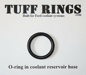 F-150 O-ring for Radiator Reservoir Hose, Expansion Tank, Coolant Leak, FORD