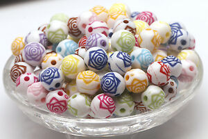 Wholesale 50pcs Mix Color dice Spacer Beads Jewelry Components Loose Beads 9*9m