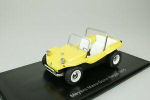 VW-VOLKSWAGEN-MEYERS-MANX-DUNE-BUGGY-1970-GELB-1-43-NEO-44476-NEU