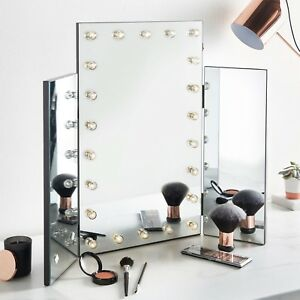 Beautify large trifold hollywood makeup dressing table vanity mirror beautify large trifold hollywood makeup dressing table vanity aloadofball Image collections