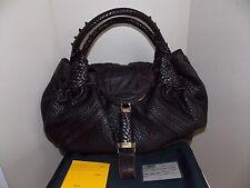 Women's Brown Leather FENDI Spy Bag