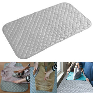 Image Is Loading Portable Foldable Ironing Pad Mat Blanket For Table